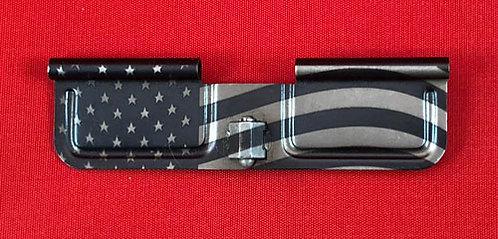 Laser Engraved Ejection Port - Waving Flag