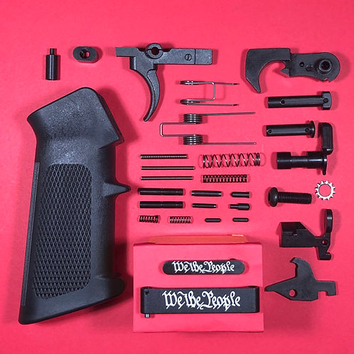 We The People Engraved Lower Parts Kit - Complete!