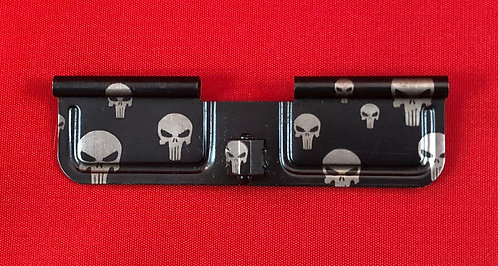 Laser Engraved Ejection Port - Skulls Random