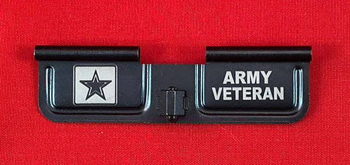 Laser Engraved Ejection Port - Army Veteran