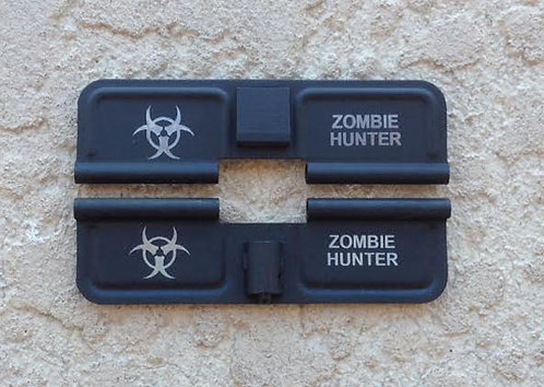 Laser Engraved Ejection Port - Zombie Hunter