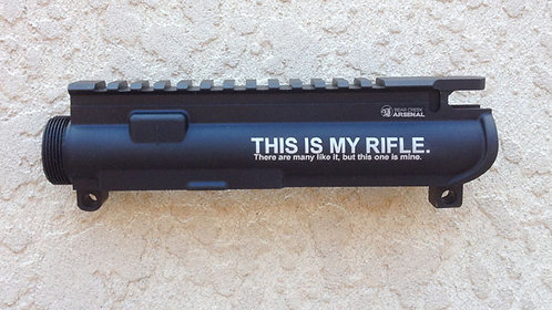 Engraved Upper Receiver - This Is My Rifle