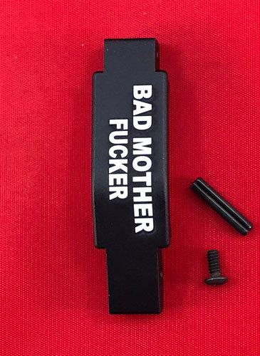 .223/5.56 Engraved Winter Trigger Guard - Bad Mofo