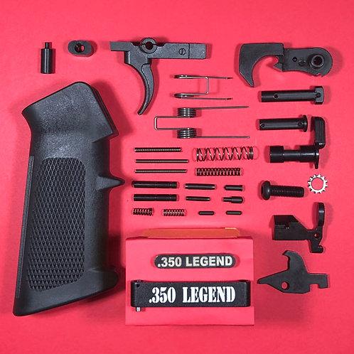 Dedicated Engraved .350 Legend Lower Parts Kit - Complete!