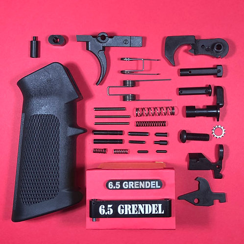 Dedicated Engraved 6.5 Grendel Lower Parts Kit - Complete!