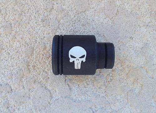 Engraved KAK Industry Micro Slimline Flash Can - Punisher