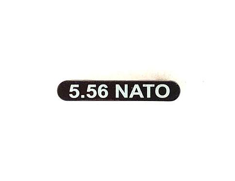 Engraved Magazine Catch - 5.56 Nato