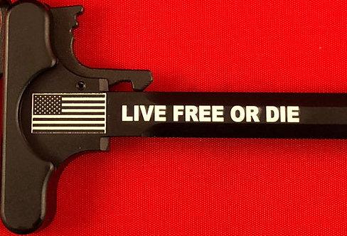 Charging Handle - Live Free Or Die (5.56 or .308)