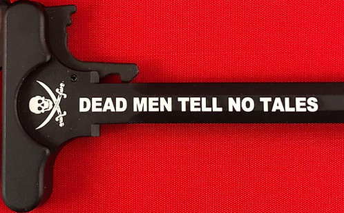 Charging Handle - Dead Men Tell No Tales (5.56 or .308)