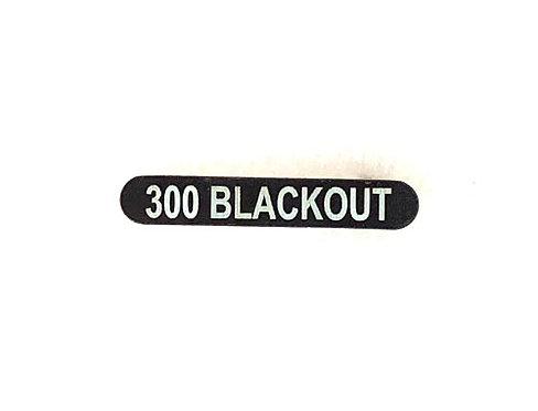 Engraved Magazine Catch - 300 Blackout