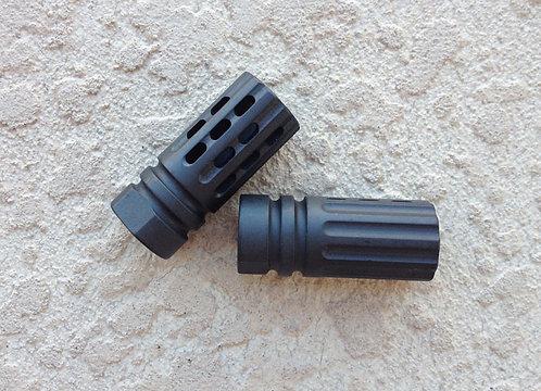 "Custom Multi-Port Muzzle Brake 1/2""x28 .223/5.56"