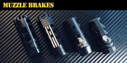 Engraved AR-15 Muzzle Brakes