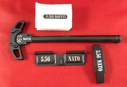 AR15 Engraved Ambidextrous Handle Kit - 5.56 Nato