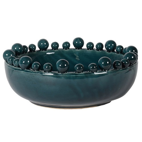 Ceramic Crackle Glazed Bowl