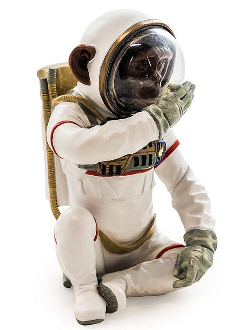 Speak No Evil Astronaut Chimpanzee