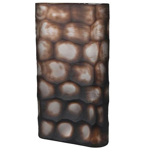 Brown Tortoise Shell Effect Vase
