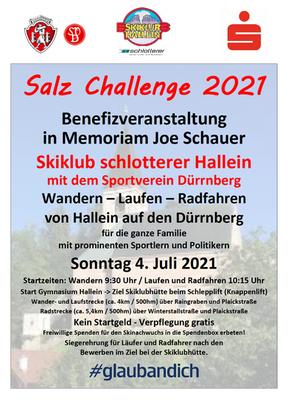 Salz Challenge am 04.07.2021
