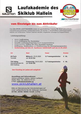 Running startet ins Frühjahr