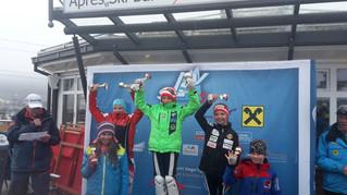 Essl Anna-Lena 3.Platz im SL beim Landeskinderrennen in Radstadt