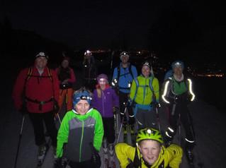 Erfolgreicher Start für unsere neue Skitourengruppe
