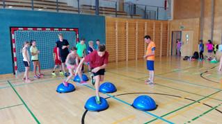 Trainingswochenende in Seekirchen