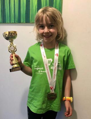 Silber für Lilian Simmerstatter beim Junior - Marathon