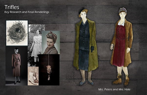 Trifles Key Research and Renderings