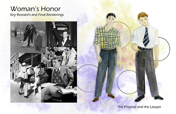 Woman's Honor Key Research and Renderings