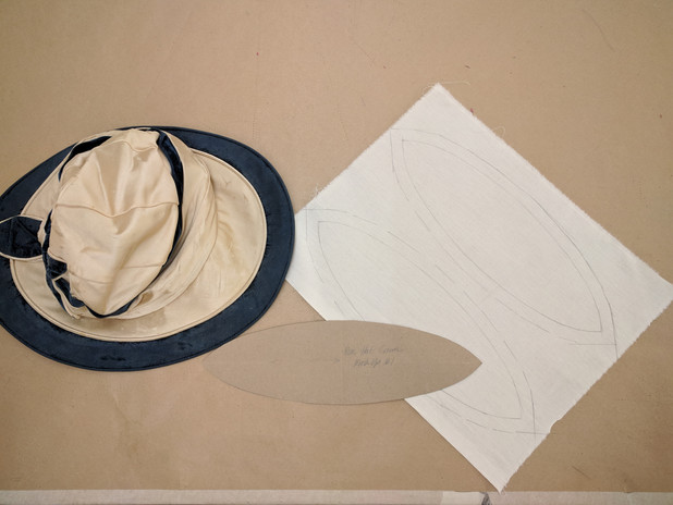 1920s Fabric Sunhat