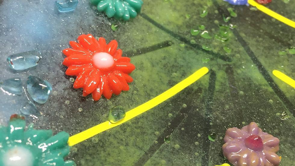 Floral Dish 22cm x 12cm
