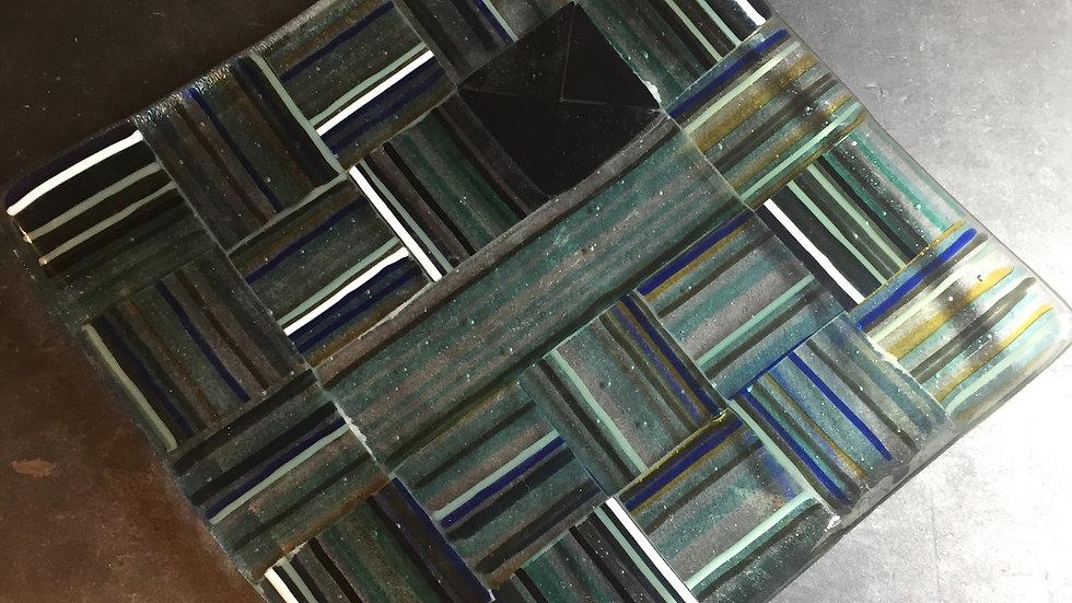 Square Stringer Patchwork Dish 20cm x 20cm