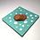 Thumbnail: Duck Egg Dots 25cm x 25cm