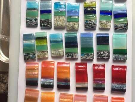 Lockdown Glass Pendants