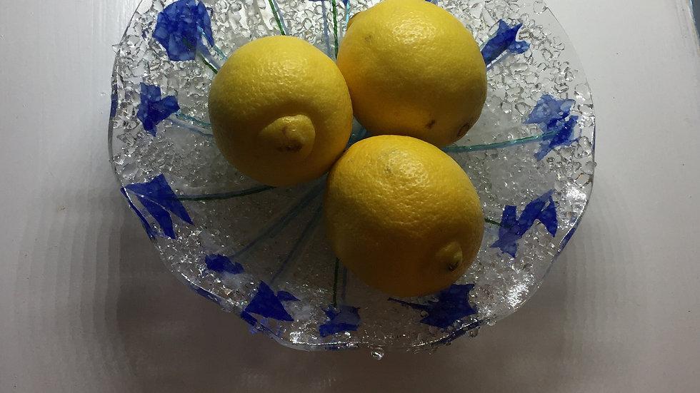 Little Rocks blue bowl 18cm diameter