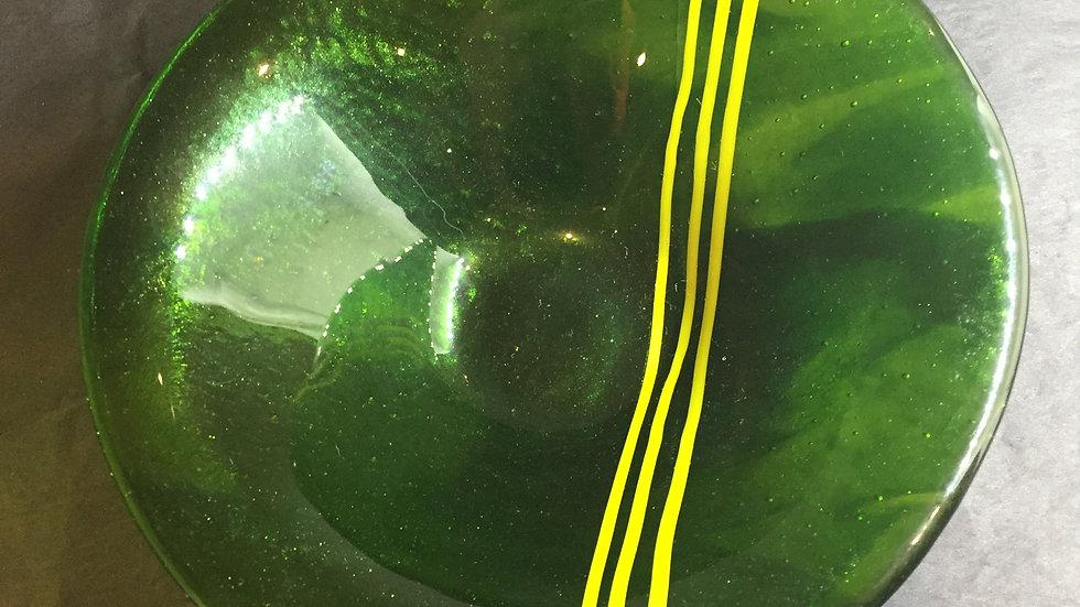 Aventurine Green Deep Bowl 17cm diameter