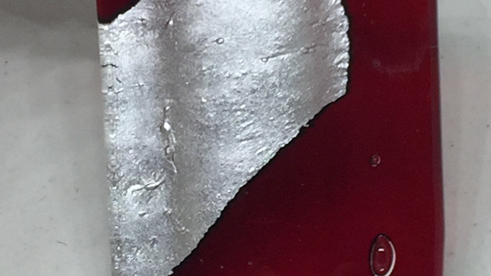 Silver & Glass Pendant