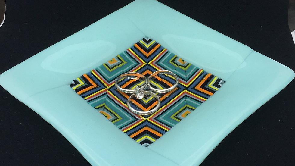 Small Square 'puzzle' dish