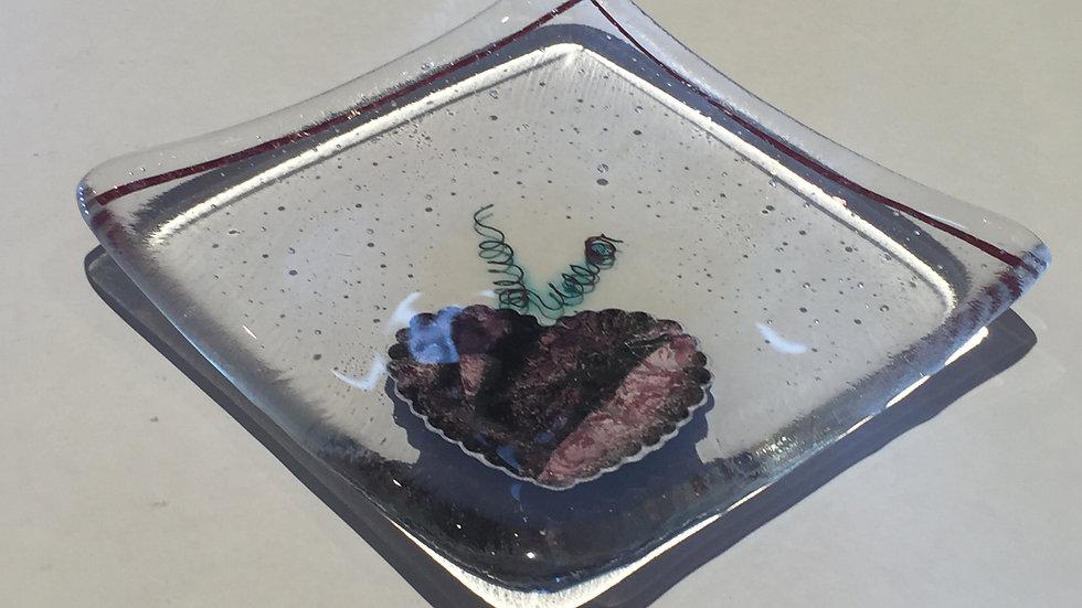 Copper Reaction dish 10cm x 10cm