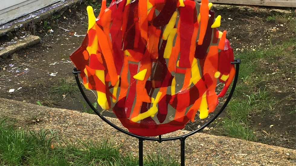 Garden Sculpture - Fire