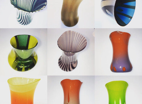 Dropped Glass Vessels