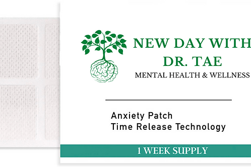 Anxiety Relief Patches (1 Week Supply)