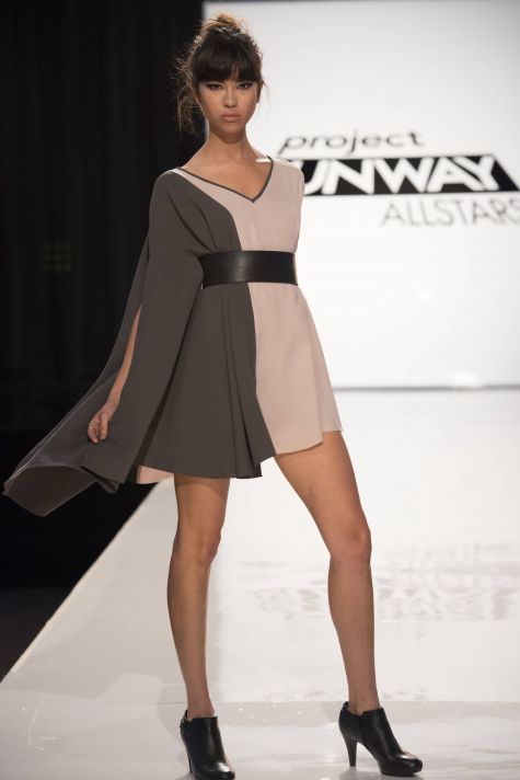 A Project Runway design