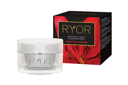 Day Cream with gold and argan oil