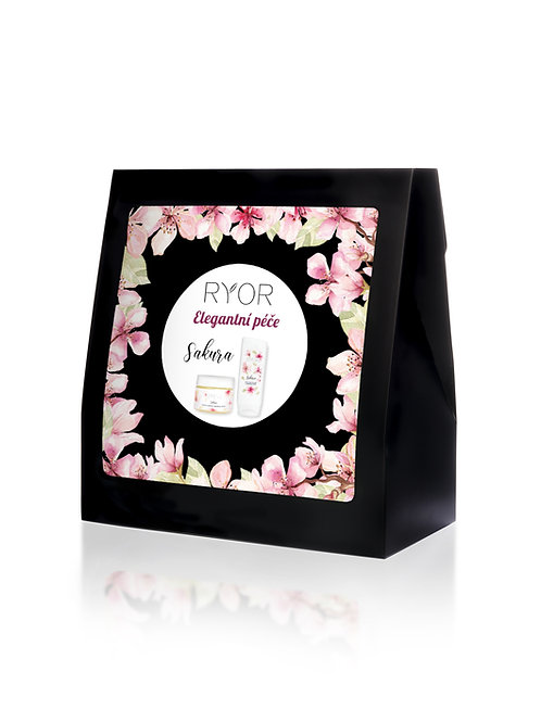 Sakura gift box - elegant care