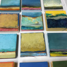 """5"""" x 5"""" small canvases"""