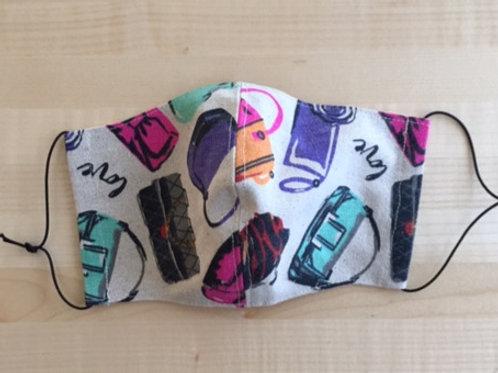 Schutzmaske Handtasche