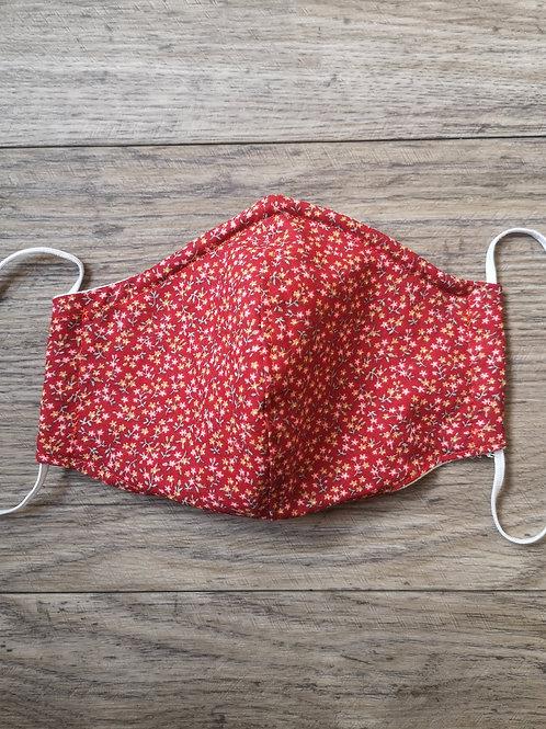 Schutzmaske rote Blumenwiese