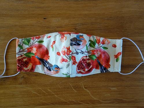 Schutzmaske Granatapfel