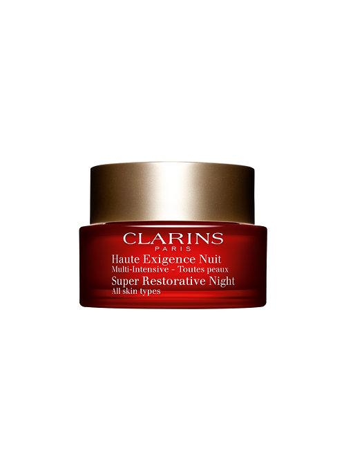 Clarins Multi Intensive Anti Age Nachtcreme Haute Exigence für jede Haut 50 ml