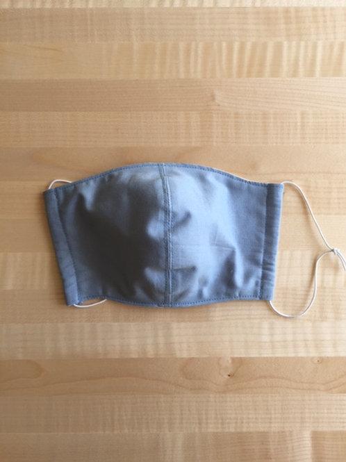 Schutzmaske hellblau